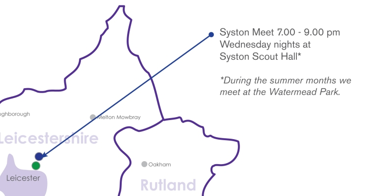 map syston