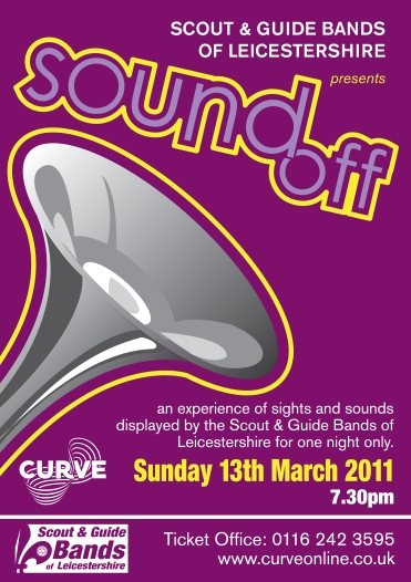 Sound Off Poster Purple
