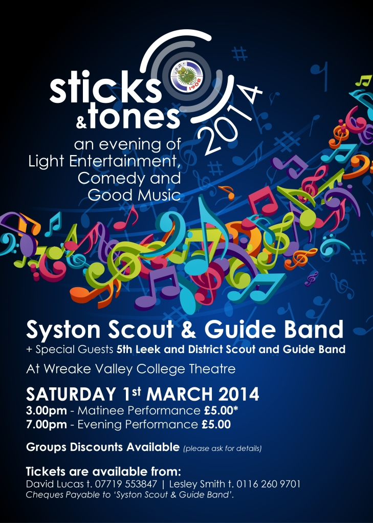 Sticks and Tones 2014 Poster-01